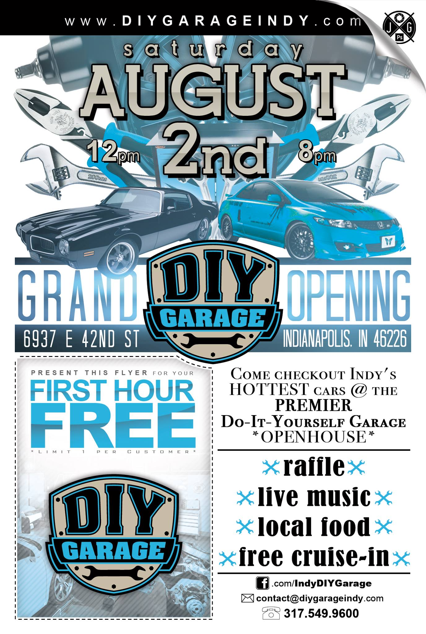 Indys diy garage grand opening titan lifts news diygarage you might be asking what is the diy garage solutioingenieria Choice Image